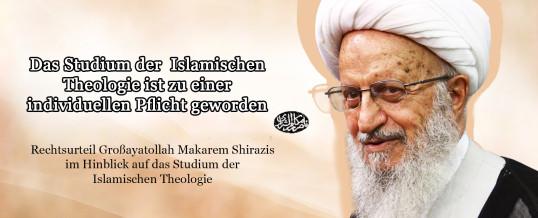 Islamische Theologie: Rechtsurteil Großayatollah Makarem Shirazis
