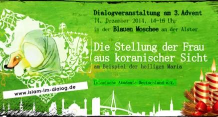 Dialogveranstaltung zum 03. Advent