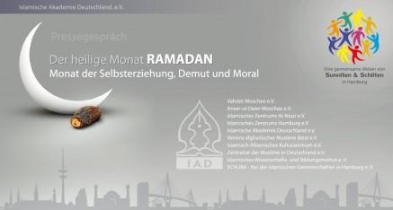 Pressegespräch zum heiligen Monat Ramadhan in Hamburg